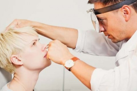 Consult ORL + test rapid antigripal