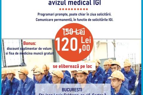 Adeverinta IGI (Inspectoratul Roman pentru Imigrari) pentru angajati straini